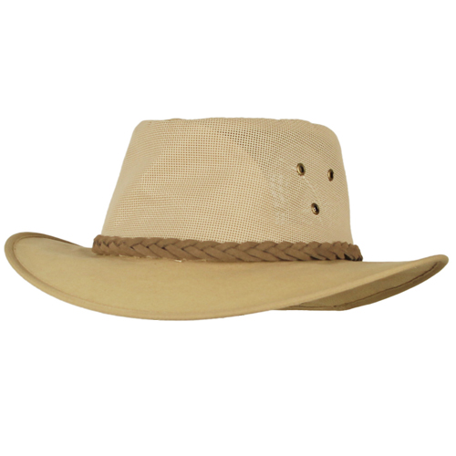 Explorer Canvas Wide-brim Safari hat, by The Safari Store